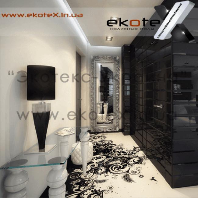 декоративные наливные полы Коутекс наливной пол lux/ex-165