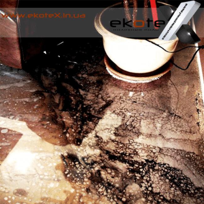 декоративные наливные полы ekoteX наливной пол lux/ex-225