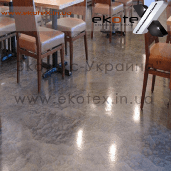 декоративные наливные полы ekoteX наливной пол lux/ex-231