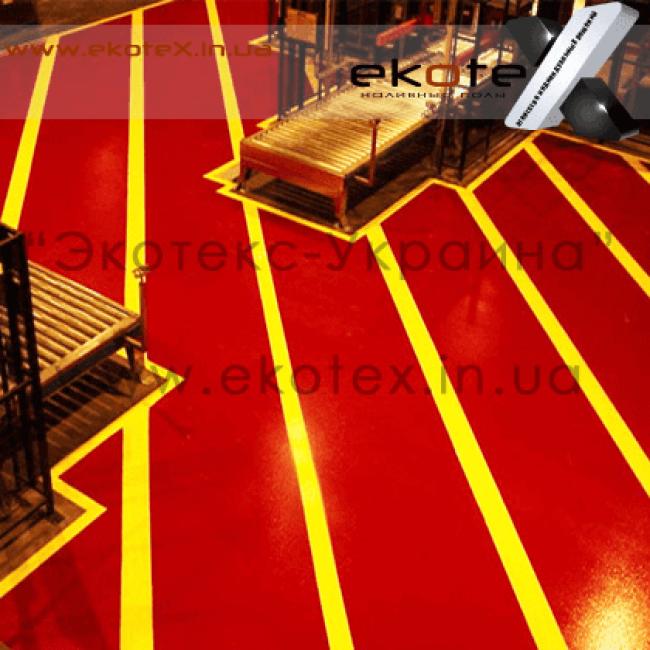 декоративные наливные полы ekoteX наливной пол lux/ex-232