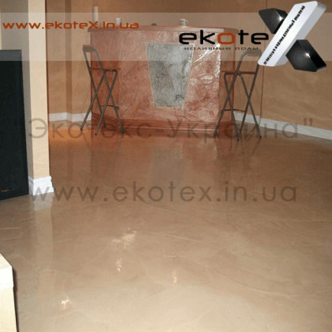 декоративные наливные полы ekoteX наливной пол lux/ex-235