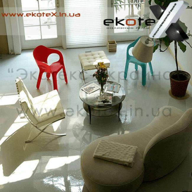 декоративные наливные полы ekoteX наливной пол lux/ex-242