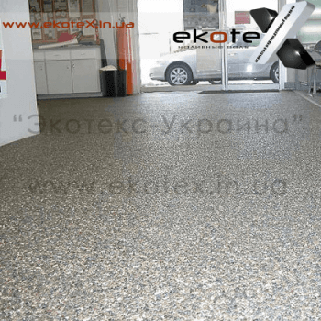 декоративные наливные полы ekoteX наливной пол lux/ex-243