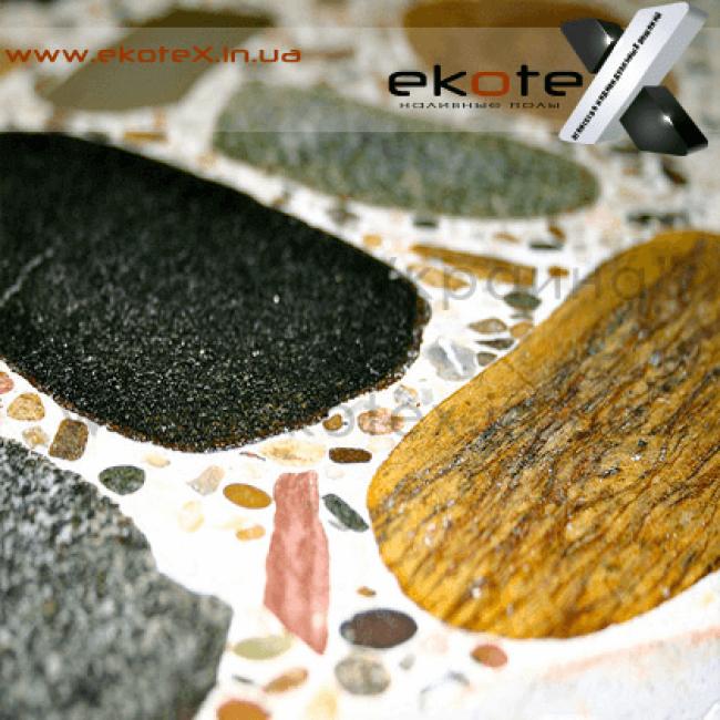 декоративные наливные полы ekoteX наливной пол lux/ex-249