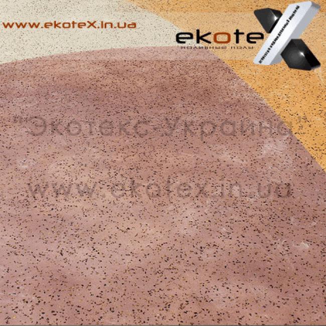 декоративные наливные полы ekoteX наливной пол lux/ex-264