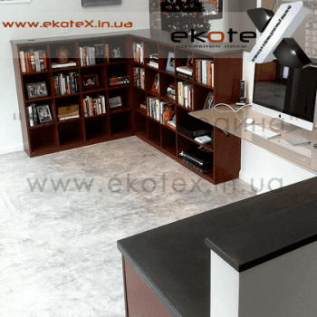 декоративные наливные полы ekoteX наливной пол lux/ex-270