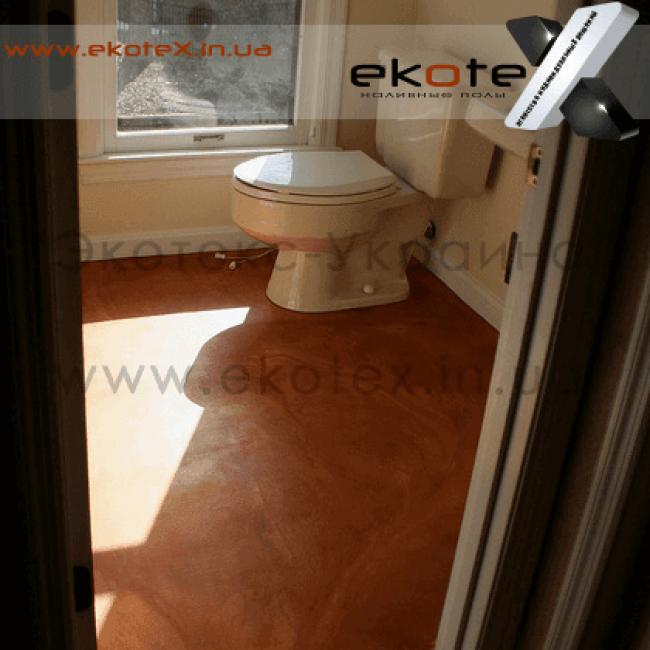 декоративные наливные полы ekoteX наливной пол lux/ex-272