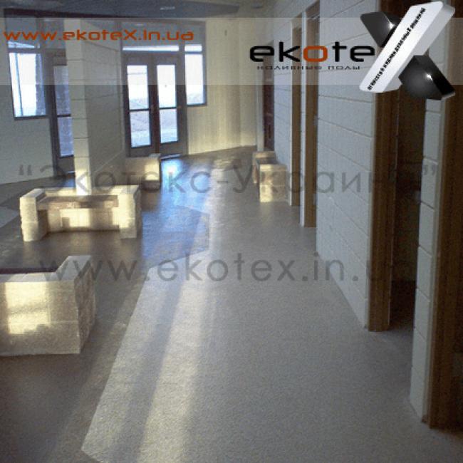 декоративные наливные полы ekoteX наливной пол lux/ex-273