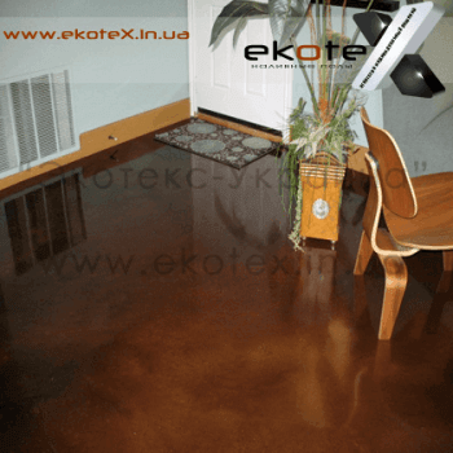 декоративные наливные полы ekoteX наливной пол lux/ex-281