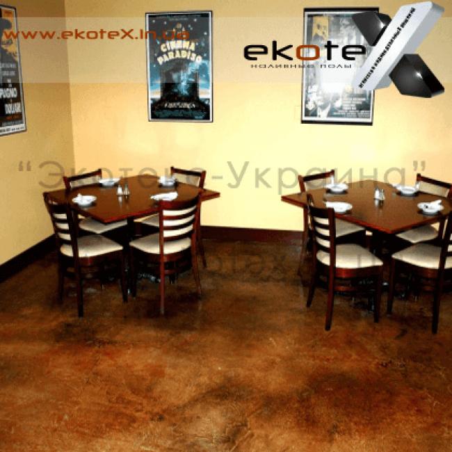 декоративные наливные полы ekoteX наливной пол lux/ex-282