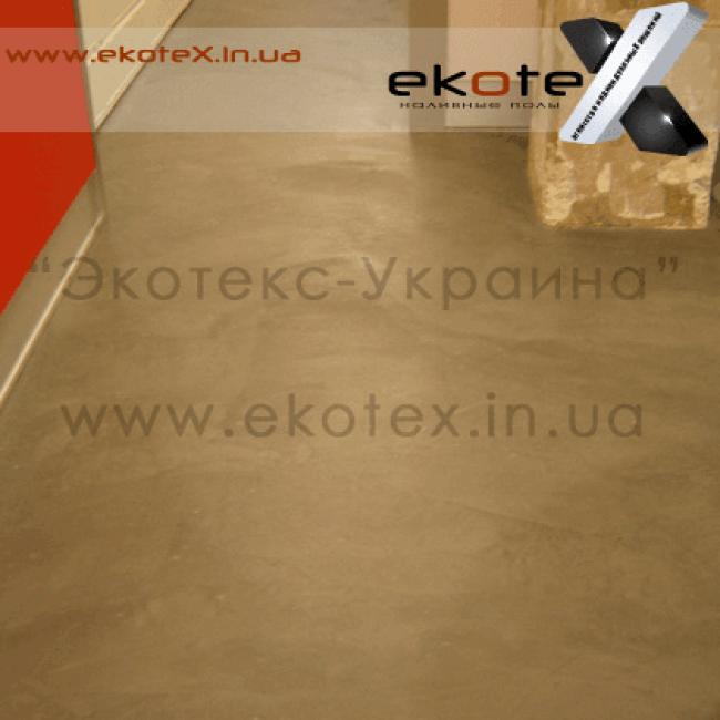 декоративные наливные полы ekoteX наливной пол lux/ex-284
