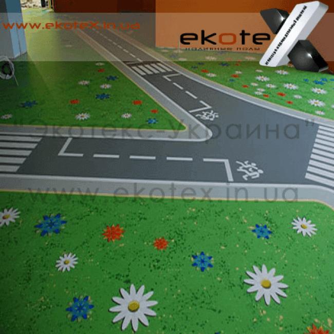 декоративные наливные полы ekoteX наливной пол lux/ex-290