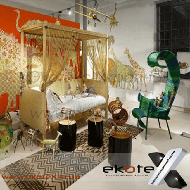 декоративные наливные полы Коутекс наливной пол lux/ex-168