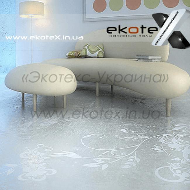 декоративные наливные полы Коутекс наливной пол lux/ex-180