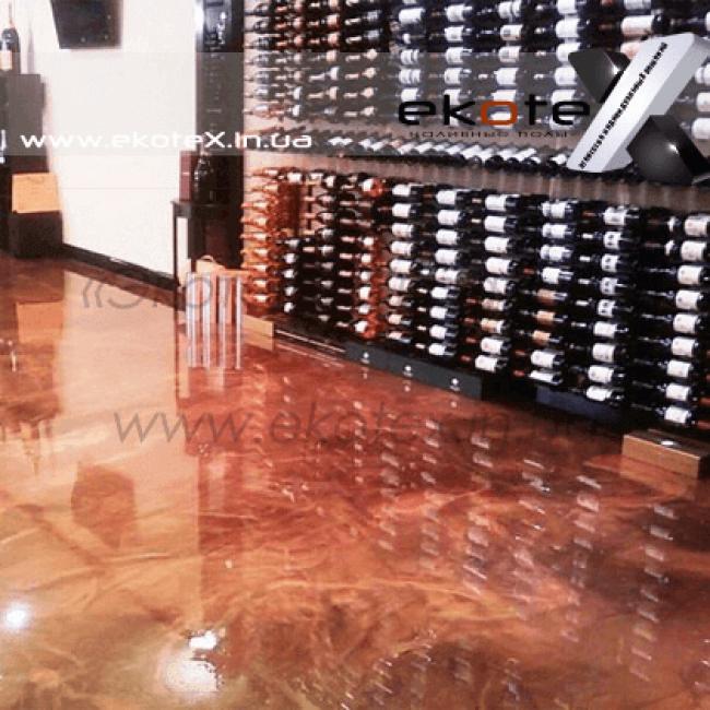 декоративные наливные полы Коутекс наливной пол lux/ex-183