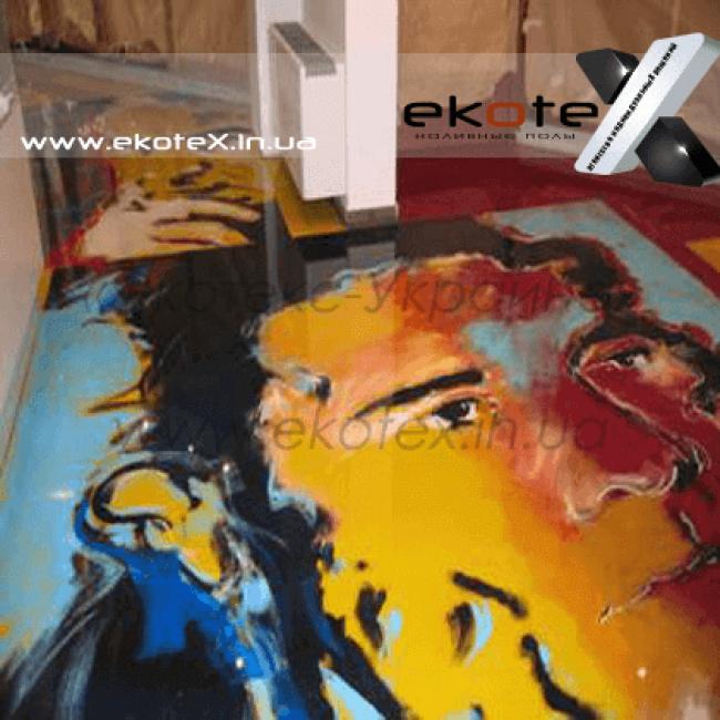 декоративные наливные полы Коутекс наливной пол lux/ex-191