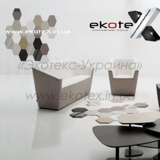 декоративные наливные полы Коутекс наливной пол lux/ex-200