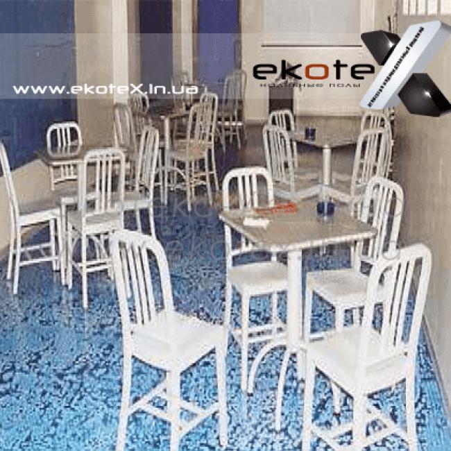 декоративные наливные полы ekoteX наливной пол lux/ex-212
