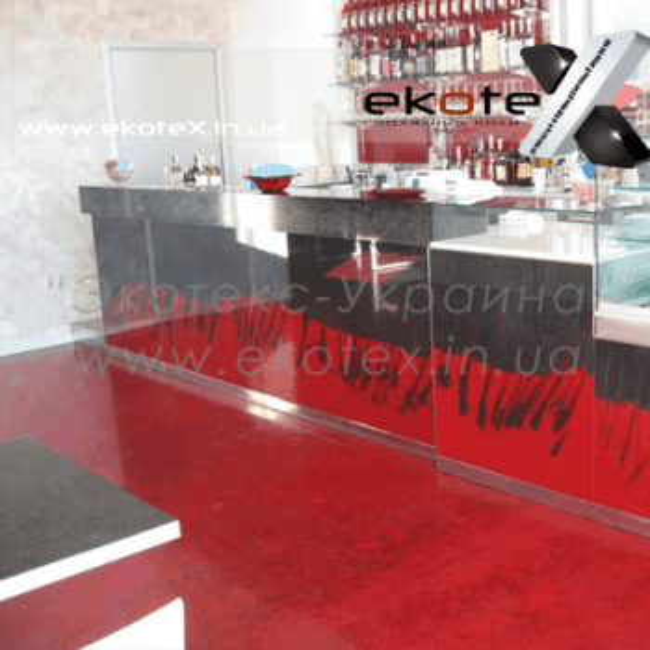 декоративные наливные полы ekoteX наливной пол lux/ex-215