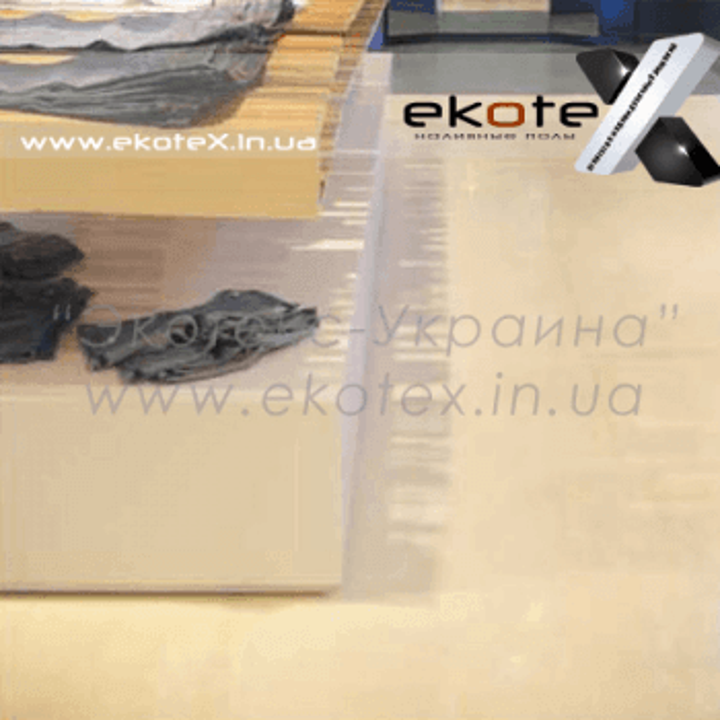 декоративные наливные полы ekoteX наливной пол lux/ex-217