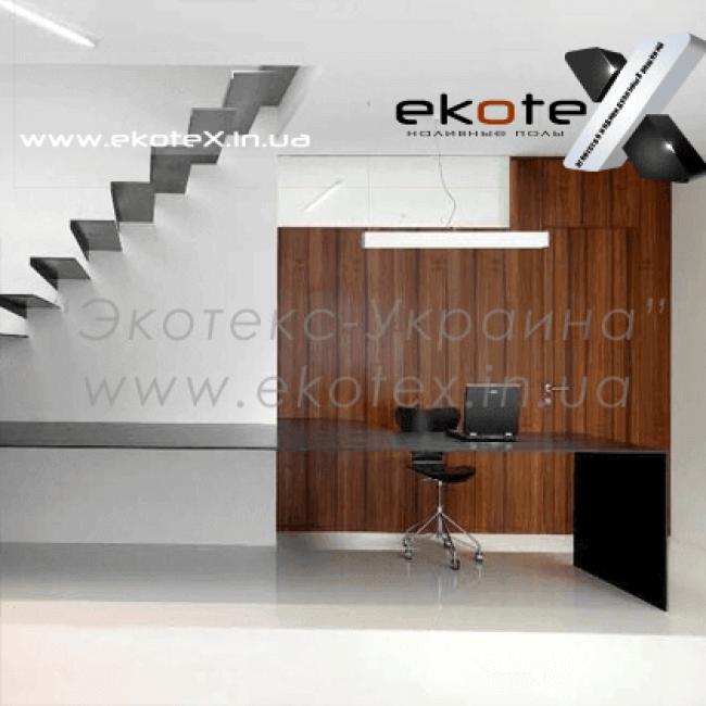 декоративные наливные полы ekoteX наливной пол lux/ex-218