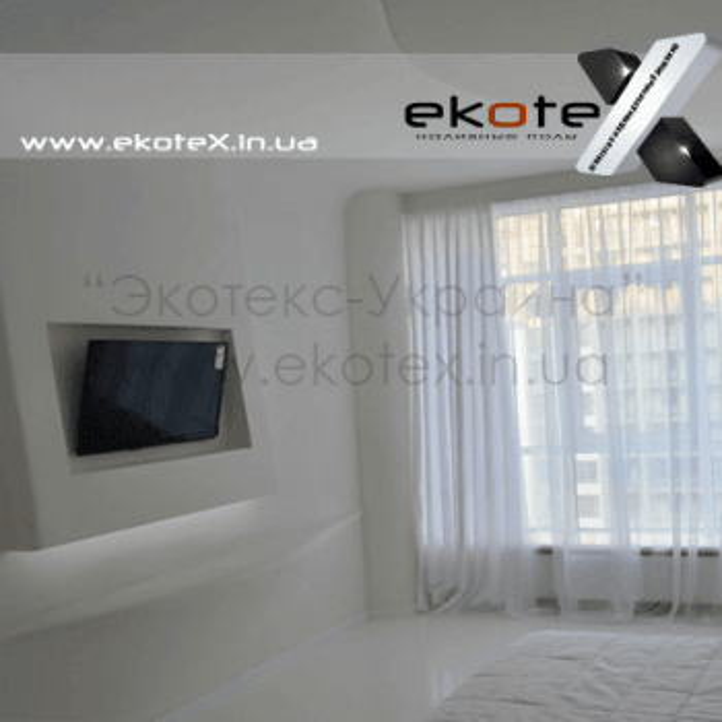 декоративные наливные полы ekoteX наливной пол lux/ex-224