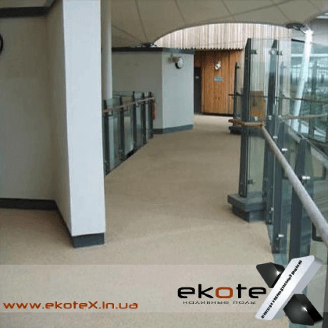 декоративные наливные полы Коутекс наливной пол lux/ex-150