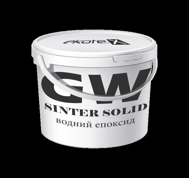 «SINTER solid» GW (водный эпоксид)