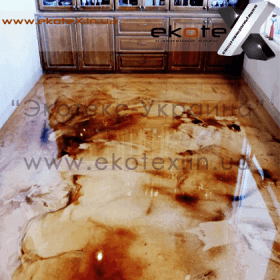 декоративные наливные полы ekoteX наливной пол lux/ex-227