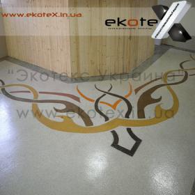 декоративные наливные полы ekoteX наливной пол lux/ex-245