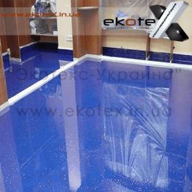 декоративные наливные полы ekoteX наливной пол lux/ex-247