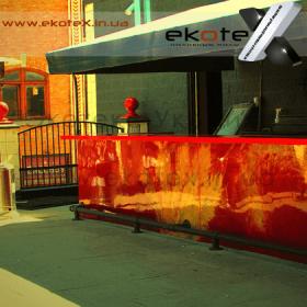 декоративные наливные полы ekoteX наливной пол lux/ex-275