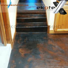 декоративные наливные полы ekoteX наливной пол lux/ex-278