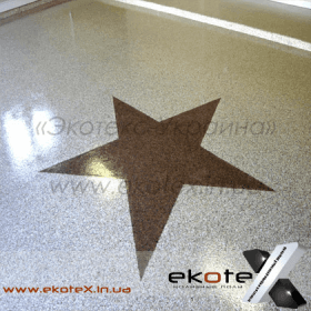 декоративные наливные полы Коутекс наливной пол lux/ex-158