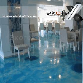 декоративные наливные полы ekoteX наливной пол lux/ex-210