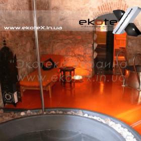 декоративные наливные полы ekoteX наливной пол lux/ex-220