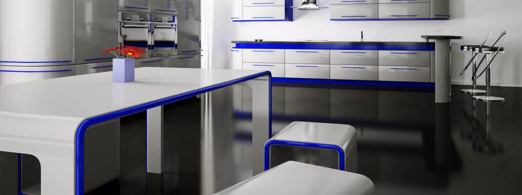 Наливные полы ekoteX в офис и ресторан